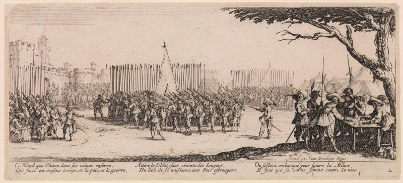 Enrollment of the Troops