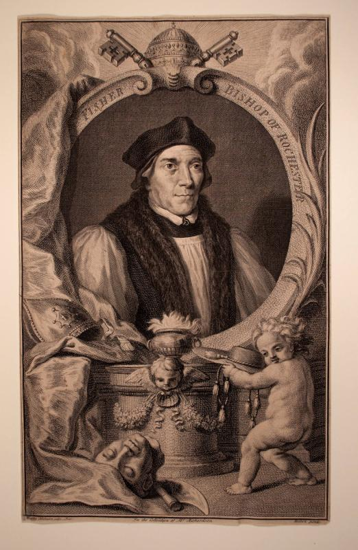 John Fisher, Bishop of Rochester (after Hans Holbein the Younger)