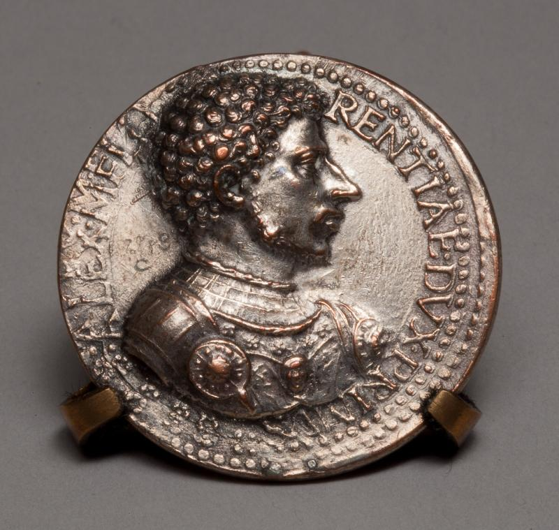 Allesandro de'Medici (1510-1537), First Duke of Florence (obverse), Allegory of Peace and Abundance (reverse)