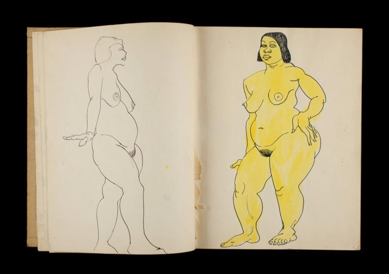 Art Institute, H. C. Westermann [Sketchbook #3, leaf 6]