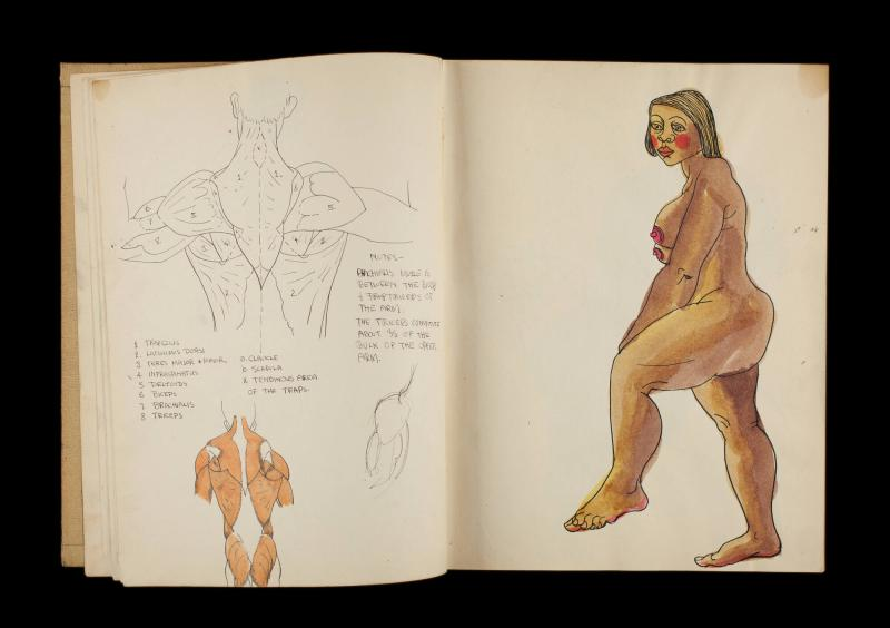 Art Institute, H. C. Westermann [Sketchbook #3, leaf 8]