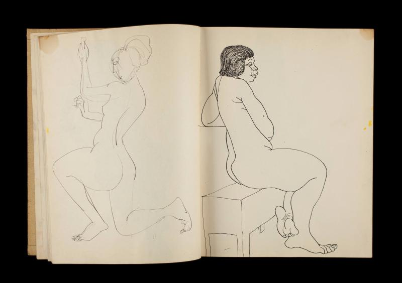 Art Institute, H. C. Westermann [Sketchbook #3, leaf 10]