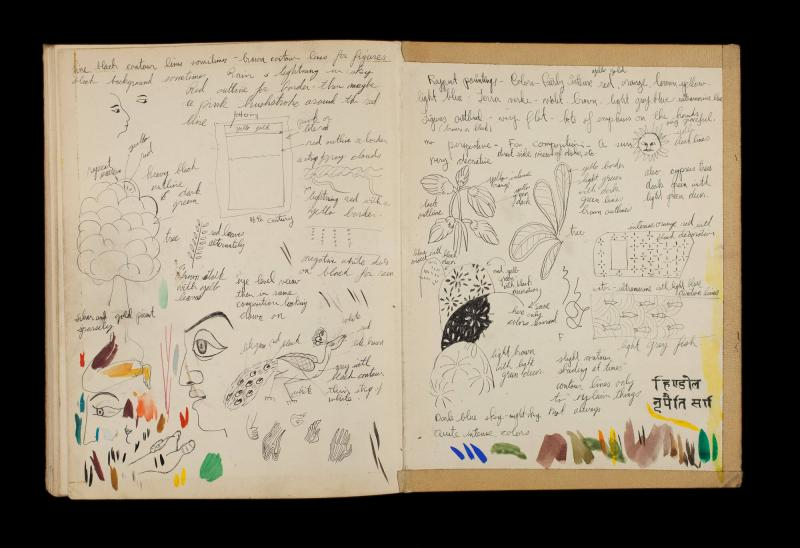 Art Institute, H. C. Westermann [Sketchbook #3, back cover]