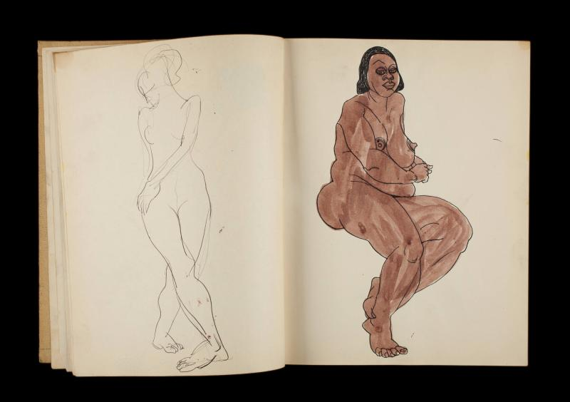 Art Institute, H. C. Westermann [Sketchbook #3, leaf 11]