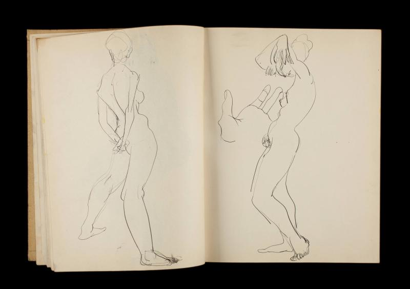 Art Institute, H. C. Westermann [Sketchbook #3]