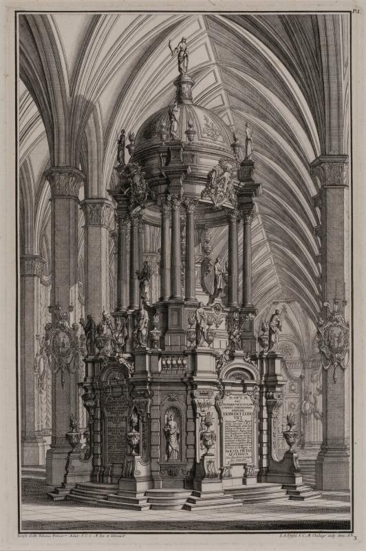 Design for a Funerary Monument