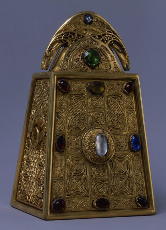 Reliquary of St. Patrick's Bell (after medieval original by Cudulig Ua Inmainen)